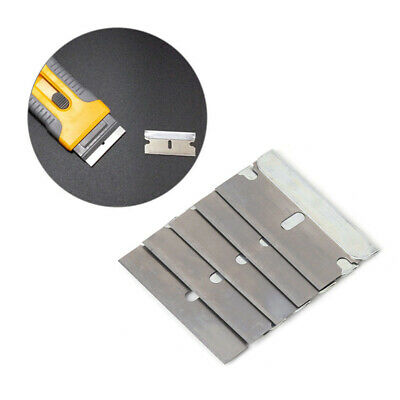Razor Scrapers Ceramic Glass Window Tinting Stainless Steel Cutter Blades Set