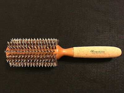 Creative Hair Brushes CRCM4X 3 Inch Mixed Boar Brush Snag Free, 3.9 Ounce