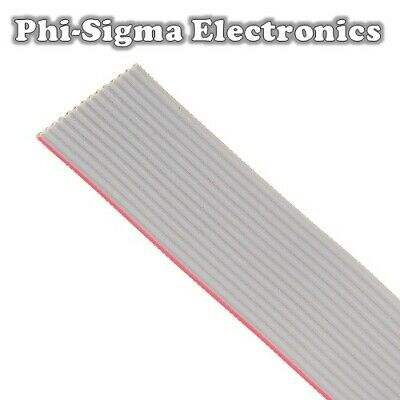 Flat Ribbon Cable 1.27mm for IDC Connectors - 10, 14, 16, 20 Way