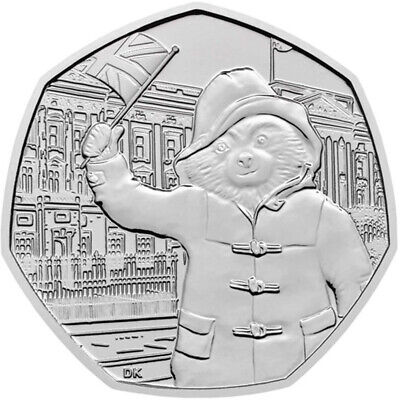 50p Coin Paddington Bear at Buckingham Palace  BRIGHT UNCIRCULATED 2018