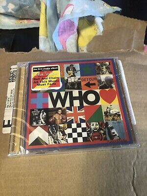 The Who **Who **BRAND NEW CD!!  NEW In Stock Will Ship Fast Ball & Chain