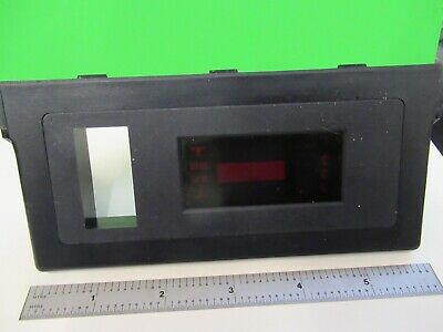 Leica Dmrb Germany Plastic Cover Display Microscope Part As Pictured &80-A-18