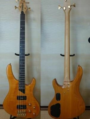 Washburn KW-1250 Natural Yellow Electric Bass Guitar