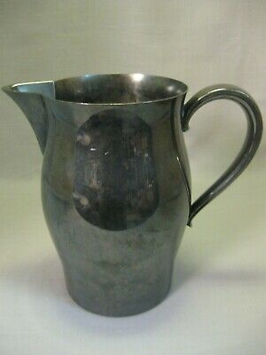 Wm Rogers & Sons Paul Revere Reproduction Silver Plate Pitcher 1856-1873