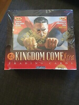 kingdom come extra trading cards display Skybox DC