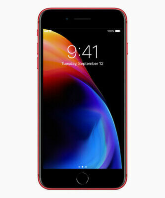 Refurbished- Apple iPhone 8 Plus a1897 64GB AT&T T-Mobile GSM Unlocked (Red)