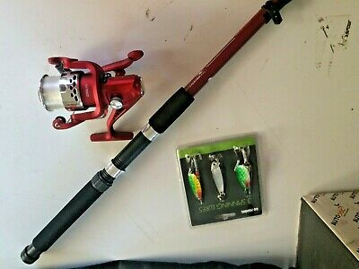 Crane Sports 9ft Telescopic Fishing Rod For Sale in