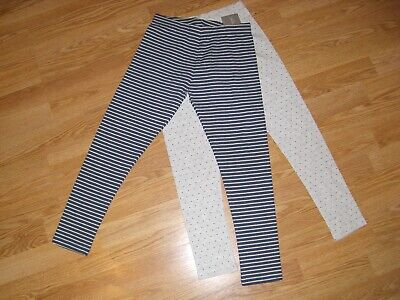 Bnwt Girls 2 Pairs Of Leggings From Next Size 10 - 11 Years / 11 Years