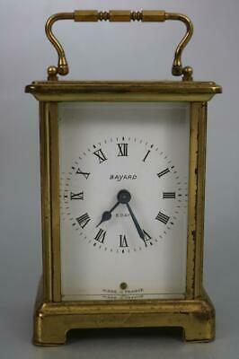 BAYARD FRENCH CARRIAGE CLOCK vintage 8 day DUVERDREY & BLOQUEL repair