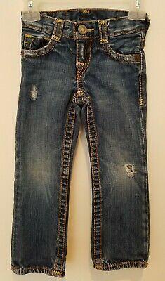 True Religion Blue Jeans/Pants Girls/Kids Size 4 runs slim
