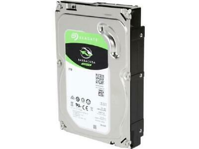"Seagate BarraCuda HDD 3.5"" Internal SATA 2TB Desktop HDD, 7200RPM, 6Gb/S SA"
