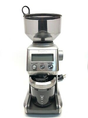 Breville Smart Coffee Grinder BCG800XL  Stainless Steel, WORKING, Read!