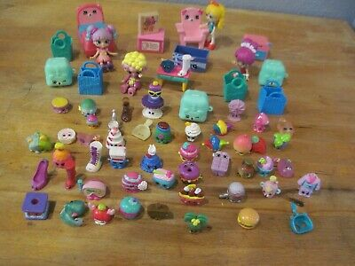 Shopkins Lil SHOPPIES Happy Places Dolls & Accessories Furniture Lot of 68
