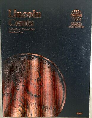 Lincoln Cent Collection: 1909-1940 Just One Missing [1909S-VDB] Whitman folder