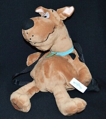 Warner Bros Scooby Doo Plush Backpack Movie World Gold Coast 50cm