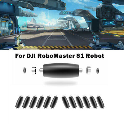 For DJI RoboMaster S1 Robot Steel Mecanum Support Wheel Rubber Tire Small Roller