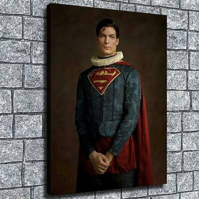 "12""x16""Superman Noble HD Canvas print Home decor Room Wall Art Painting Pictures"