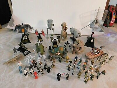 Star Wars Action Fleet Micro Machines lot, loose, used, late 90's