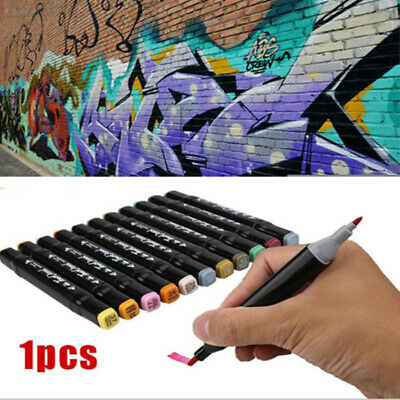 DCE6 Color Pencils Calligraphy Pens Color Brushes Twin Tip Art Brush Pens