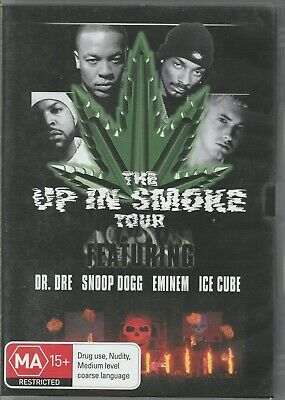 The Up In Smoke Tour DVD Dr. Dre Snoop Dog Eminen Ice Cube