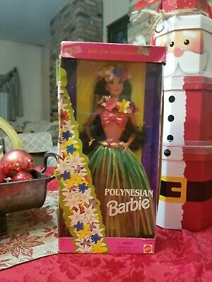 Dolls Of The World Polynesian Barbie 1994 NMIB Special Edition Mattel 1994