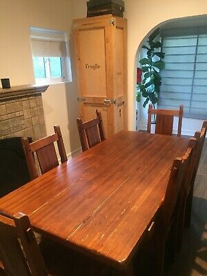 Pier 1 Imports Dining Table Set Good Condition Wooden