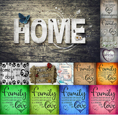 UK Full Drill Family Love Letter 5D Diamond Painting Embroidery DIY Room Home
