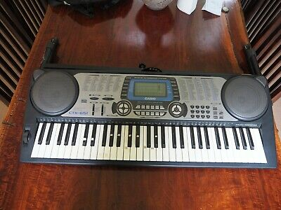 Casio Ctk-651 Keyboard + Stand-Excellent Condition