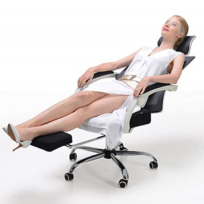 Hbada Ergonomic Office Recliner Chair - High Back Desk Chair Racing Style with -