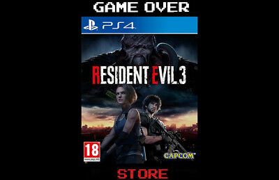 Resident Evil 3 Remake Ps4 Playstation 4 Nemesis Remastered Nuovo Re3 Sigillato