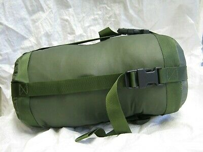 British Army Jungle Sleeping Bag Compression Stuff Sack Green Mlitary Surplus