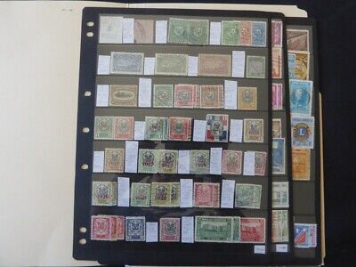Dominican Republic Classic Extensive Stamp Collection on Scott Album pages