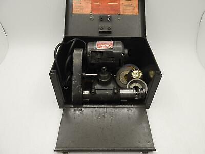 DuMore Tool Post Grinder #5-021 - 1/2 HP - w/ Box & Accessories