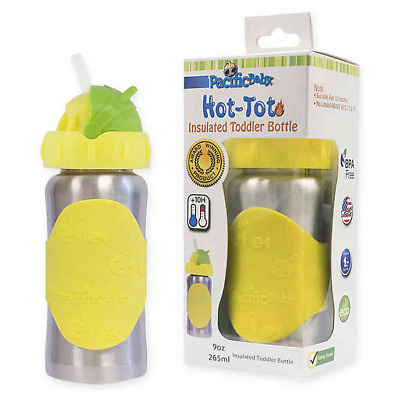 Pacific Baby Hot Tot Stainless Steel Insulated Toddler Bottle