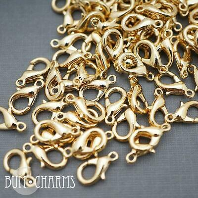 Lobster Clasps Large Popular Clasps Basic Jewelry Making Findings - 6 Pieces