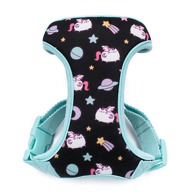 *NEW* Pusheen Black Adjustable Cat Harness With Lead