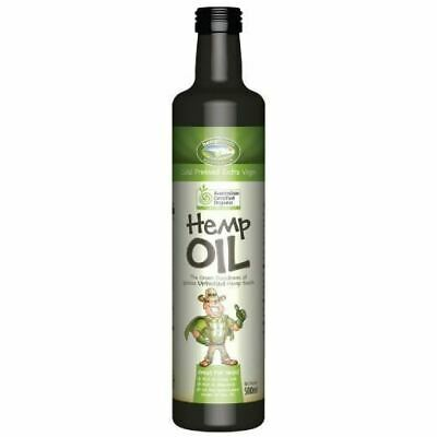 Hemp Seed Oil Organic Certified 500ml