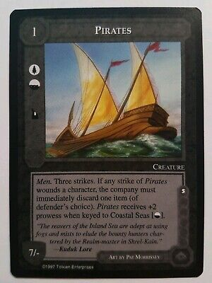 Middle-Earth Ccg Meccg Pirates The Lidless Eye Le Mele Rare Lotr Card Game