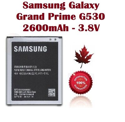Brand New Battery For Samsung Galaxy Grand Prime EB-BG530BBC SM-G530 2800mAh