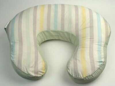 Nursing Pillow Set Mombo Harmony & Comfort Neutral Green Stripe Breastfeeding