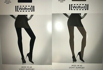 Wolford Miss W light Strumpfhose Tights Large Support black