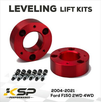 """For 2004-2019 Ford F150 3"""" Red Front Leveling Lift Kit 2004 2006 2009 2WD 4WD"""