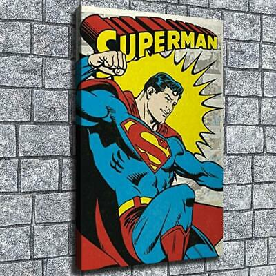 """12""""x18"""" Superman fist Picture HD on Canvas Home Decor Room Wall Art paints photo"""