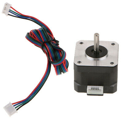 NEMA 17 Stepper Motor 1.68A 0.3Nm 2.8V For CNC Reprap 3D Printer Extruder