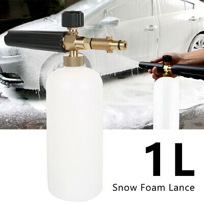 Large Snow Foam Lance Cannon Soap Bottle Sprayer Car Pressure Washer Gun