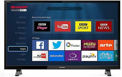 "Sharp LC	48"" WS FHD 1080p LED TV Freeview HD Saorview 