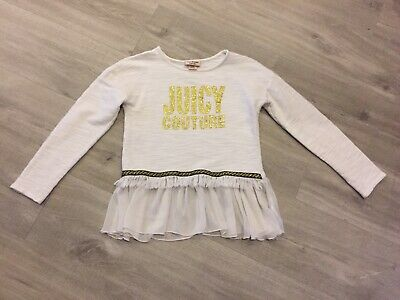 Girls Juicy Couture Top Age 8/10 Years