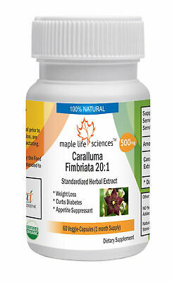 Caralluma Fimbriata 10:1 Extract Capsules For Weight Loss Appetite Suppressant