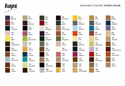 Dye Paint For Natural and Synthetic Leather and Textiles, Kaps Super Color,...