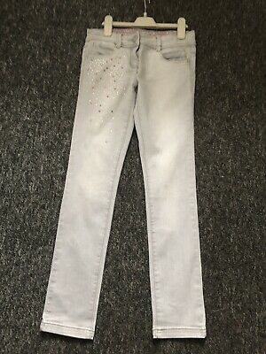 Girls Grey Skinny Jeans From Next Age 11 Yrs